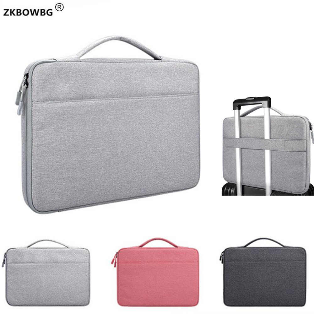Briefcase Bags Waterproof Women Men Laptop Bag For <font><b>ASUS</b></font> Chromebook 11.6 14 13 13.3 <font><b>15</b></font> <font><b>15</b></font>.4 <font><b>15</b></font>.6 inch Laptop HandBag image
