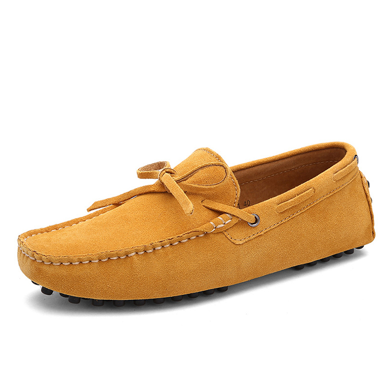 2020 Newest Man Loafer Shoes Men Shoes Casual Flats Shoes Lazy Slip On Shoes Breathable Driving Footwear Plus Size