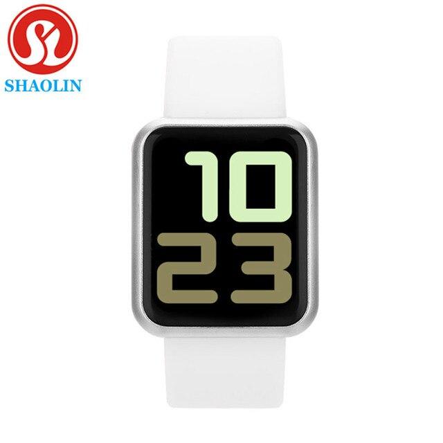 חכם שעון נשים גברים ספורט אופנה עמיד למים שעון פעילות גשש כושר קצב לב ברים Smartwatch עבור אפל שעון PK IWO