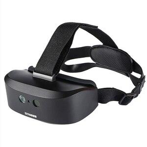 Новые цифровые очки ночного видения на голову для ночного патруля инфракрасного типа шлема камеры 1:1 FOV. Вид в полной темноте