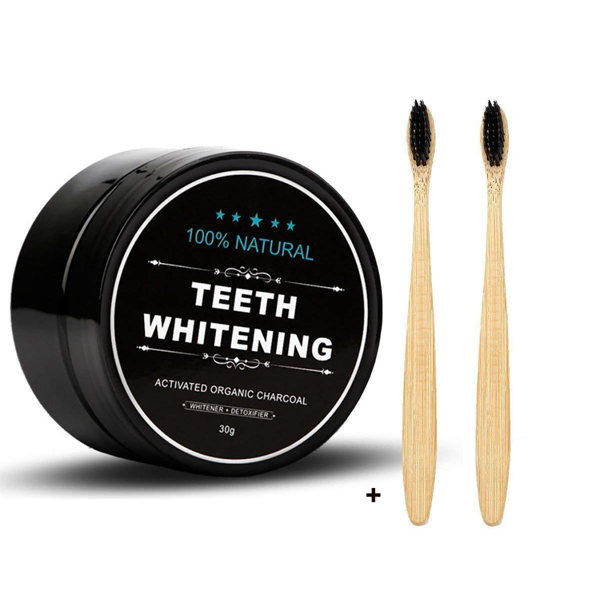 30g Teeth Whitening Oral Care Charcoal Powder Natural Activated Charcoal Teeth Whitener Powder Oral Hygiene