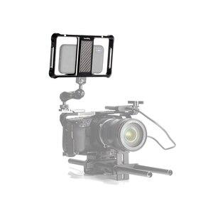 Image 5 - Smallrig Universele Mobiele Telefoon Vlogging Kooi Video Schieten Telefoon Kooi Accessoires Met Koud Shoe Mount  2391