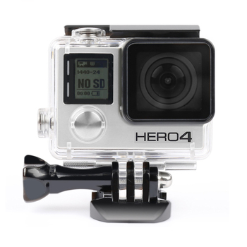 Waterproof Camera Housing Case Underwater Protector Case Cover Housing Shell Camera Accessories for GoPro Hero 3+/4 Camera