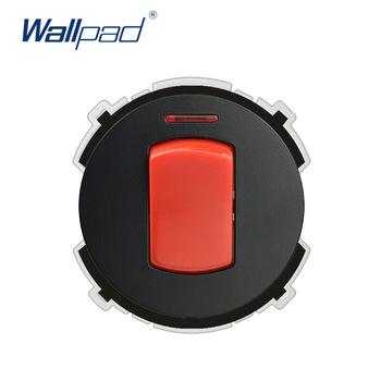 Wallpad 45A 2P przełącznik do montażu ściennego kuchenka podwójny polarny wskaźnik LED przycisk funkcyjny tylko dowolna kombinacja tanie i dobre opinie 45A Switch White Black Function Keys 66 5*66 5 Fire Retardant PC 11250W 110-250V Soft LED Indicator Rocker Switch CE CCC