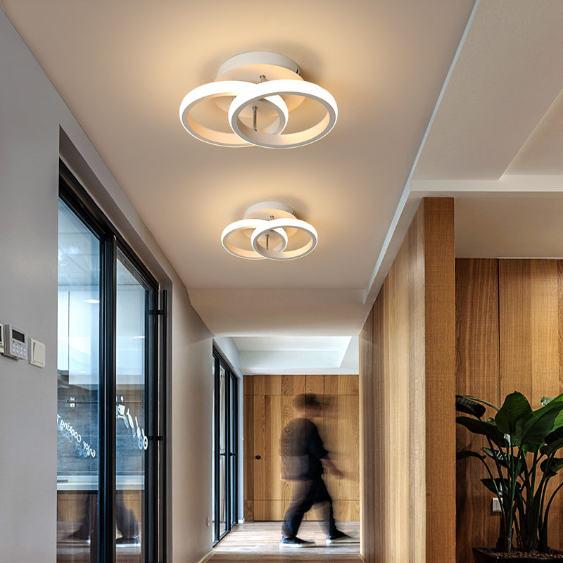 lowest price 2020 Modern led pendent Lights aluminum circle lights for Interior design engineering lighting Line hang LED ring pendent  lamp