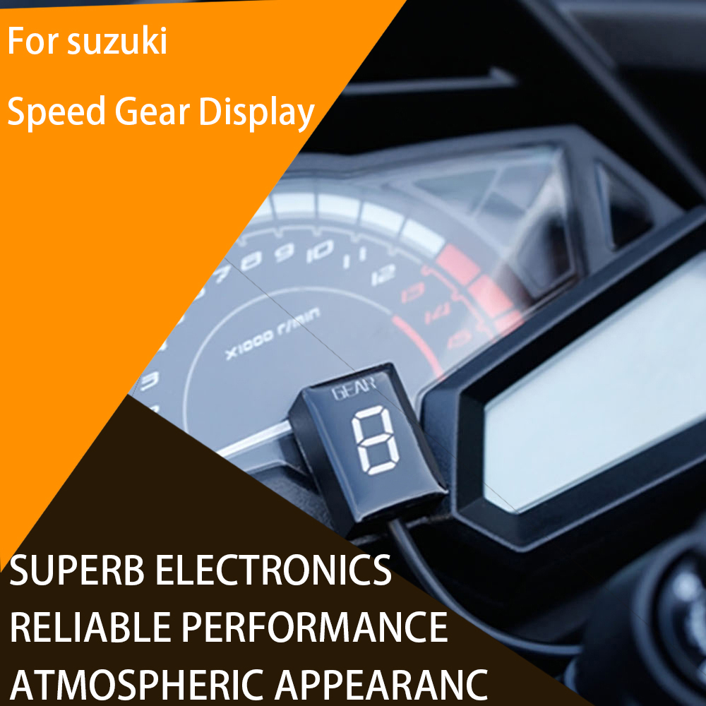 For <font><b>SUZUKI</b></font> <font><b>GSX1400</b></font> GSX600 GSF650 GSF1250 Gear Indicator Position Display Gauge Shifter Motorcycle Motorbike image