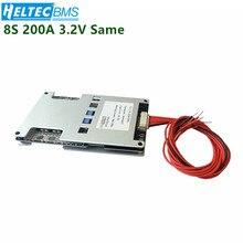 Wholesale18650 BMS  8S 200A Balance Board for 3.2V LifePO4 Battery protection board 29V 25.6V