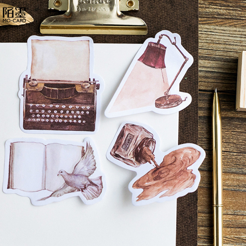 1pack /lot Creative Into The Short Song Series Paper Sticky Notes Memo Pad  Stationery Office School Supplies Label Stickers