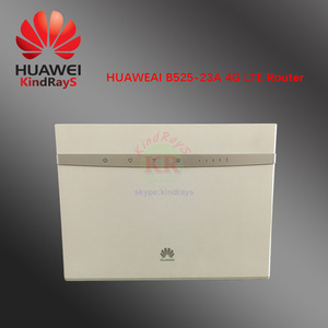 Unlocked 4g router huawei b525 B525s-23a 4G LTE Cat6 Wireless Router 4G CPE Industrial Wifi Router wifi router sim card(China)