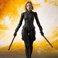 NEW hot 15cm Avengers Black Widow Action figure toys doll Christmas gift with box(China)