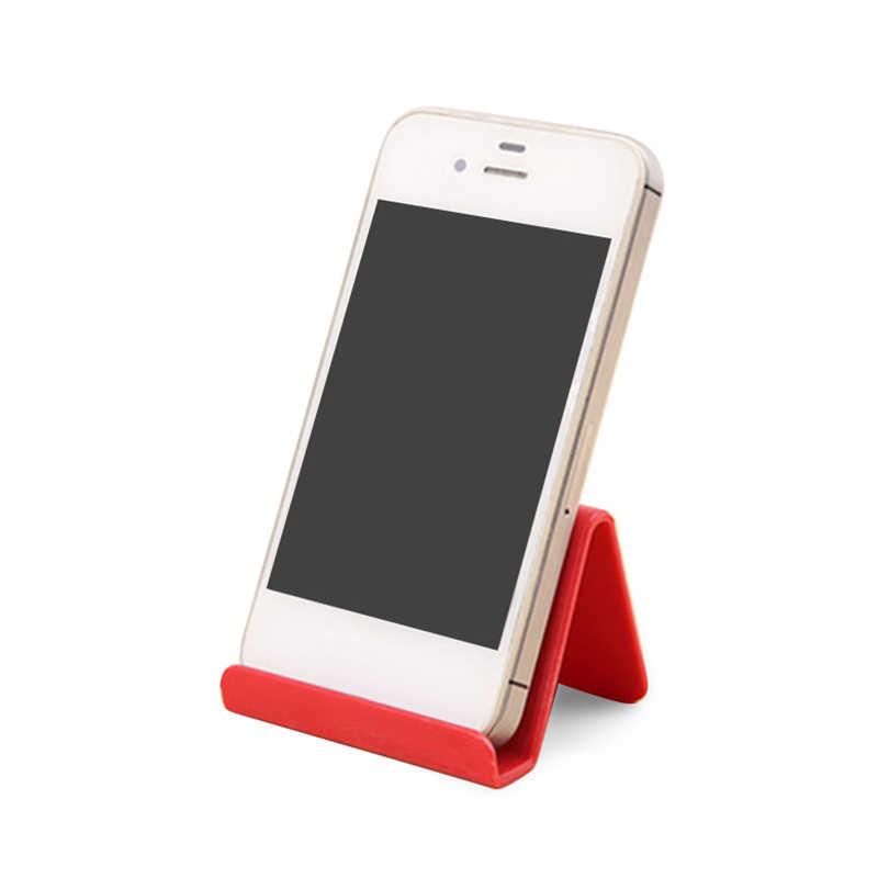 Draagbare Kleur Stand Telefoon Stand Universele Mobiele Standaard Mobiele Telefoon Houder Bureau Smartphone Ondersteuning Tablet Desktop Willekeurige Kleur