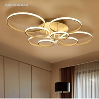 Ultra thin annular external LED ceiling light Residential indoor & commercial / office ceiling lamps Lighting fixture