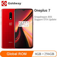 "Oneplus ROM globale 7 8GB 256GB AMOLED Smartphone Snapdragon 855 6.41 ""20 W charge rapide 48MP UFS 3.0 NFC 3700mAh téléphone Mobile"