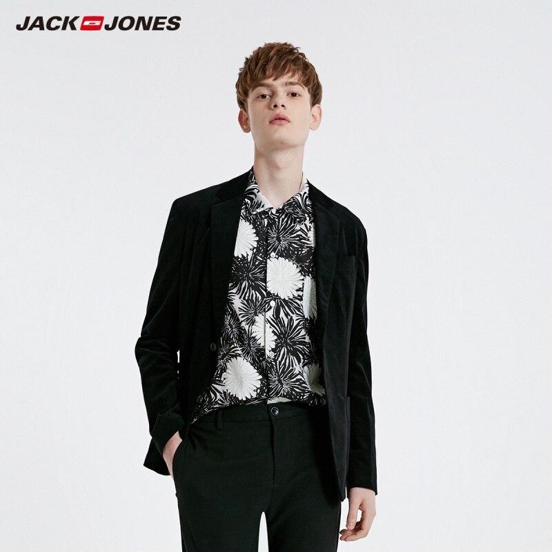 JackJones Men's Corduroy Cotton Suit Jacket Slim Blazer Menswear Style 219108501