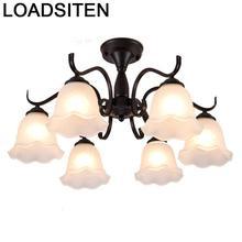 Industrial Decor Flesh Light Lampara Colgante Lustre E Pendente Para Sala De Jantar Deco Maison Luminaire Suspendu Hanging Lamp