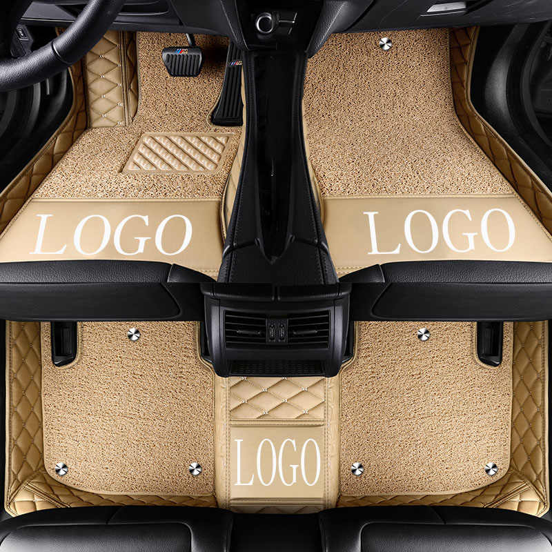 Auto Vloermatten Met Logo/Merk Logo Voor Mazda 3/6/2 MX-5 CX-5 CX-7 5D Auto -Styling Heavy Duty Alle Weersomstandigheden Bescherming Tapijt Floor