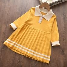 Menoea Kids Sweater Dress 2020 Winter Style Children Design For Girl Costume Tops Kids