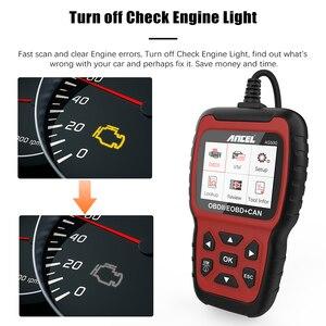 Image 5 - Ancel AS500 OBD2 OBD 2 Scanner Engine Code Reader OBD Car Diagnostics Tool Multilingual Free Update ODB2 Automotive Scanner
