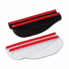цена на 2Pcs Universal Flexible PVC Car Rain Eyebrow Rearview Mirror Rain Shade Rainproof Back Mirror Shield Rain Cover Car Accessorie
