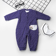 2019 Infants And Young Children's Cotton New Onesies A Baby's Long Sleeves Spring And Autumn Infants And Children's Rompers infants