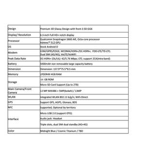 Image 5 - ASUS ZenFone Max Pro (M2) ZB631KL 4GB RAM 64GB ROM 6.3 cala 4G LTE Smartphone twarz ID 5000mAh Android 8.1