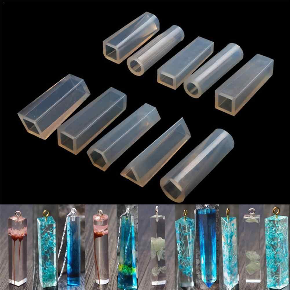 الكريستال الايبوكسي قلادة قالب من السيليكون لتقوم بها بنفسك الكريستال-مجوهرات ذات أشكال قالب لتقوم بها بنفسك الحرفية راتنجات الايبوكسي قوالب القلائد قالب سيليكون