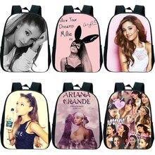 2019 New Ariana Grande Children Backpacks Girl Boys Backpack Children's School Bags Cartoon Kindergarten Rucksack printio ariana grande