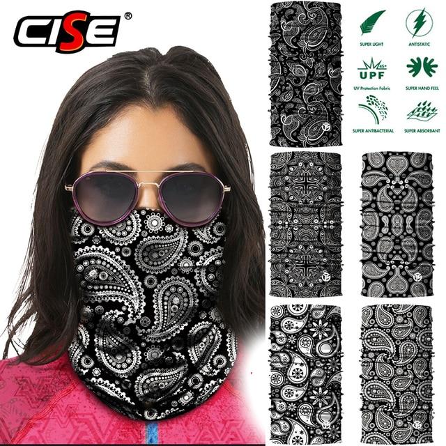 3D Волшебная Балаклава, маска для лица, мотоциклетная маска для шеи, гетры для мотокросса, дышащая бандана, Байкерская бандана для мужчин и женщин