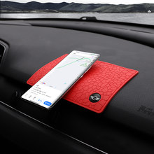 1 pçs carro anti derrapante esteira suporte do telefone dashboard pegajoso antiderrapante gel almofada para mini cooper countryman clubman r55 r56 r60 f54 f55 f56
