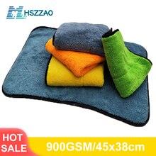 Auto Detaillering 45x38cm Auto Wassen Doek Microfiber Handdoek Car Cleaning Rag Voor Cars Dikke Microfiber Voor car Care Keuken