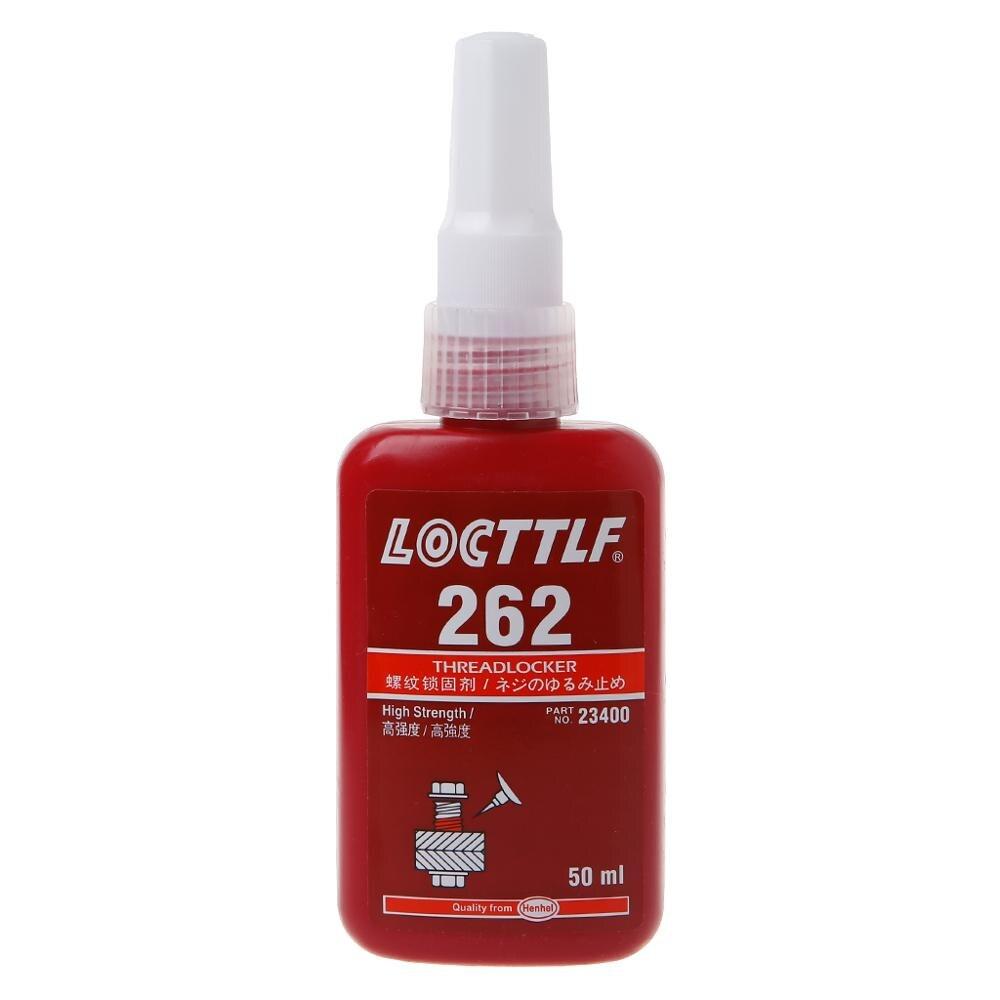 262 Thread Locker Adhesive Sealant Glue Locktite Prevent Oxidation Screw Use