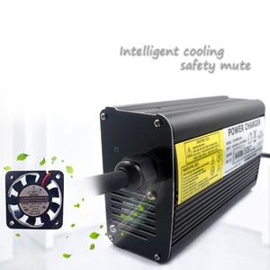 Image 4 - YZPOWER Otomatik Durdurma 84 V 4A 3.5A 3A Lityum pil şarj cihazı 72 V Li Ion Lipo Pil Paketi Ebike E bisiklet akıllı şarj cihazı