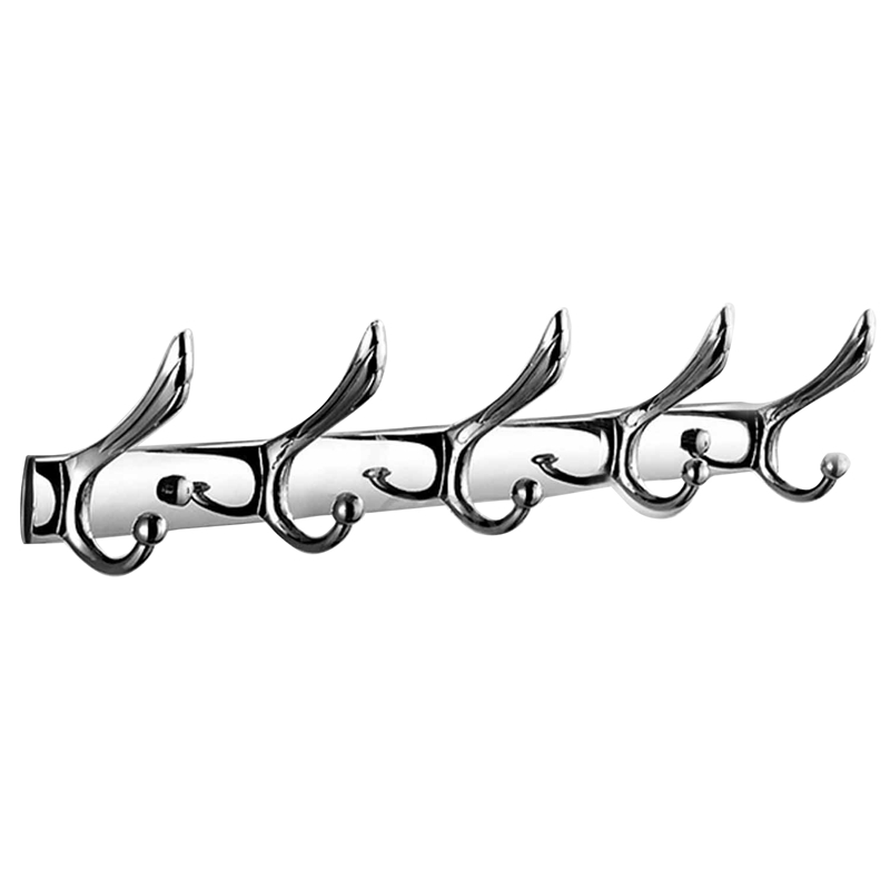 Voucher  ABSS-Single Rod Hooks 45Cm Wall Coat Hanger Bathroom Cloth Towel Rack Holders Kitchen Room Cabinet