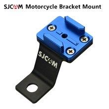 Suporte da motocicleta montagem de alumínio para sjcam sj4000 sj5000 m10 m20 sj6 sj7 sj8 sj9 sj4000 série acessórios da câmera ação ar