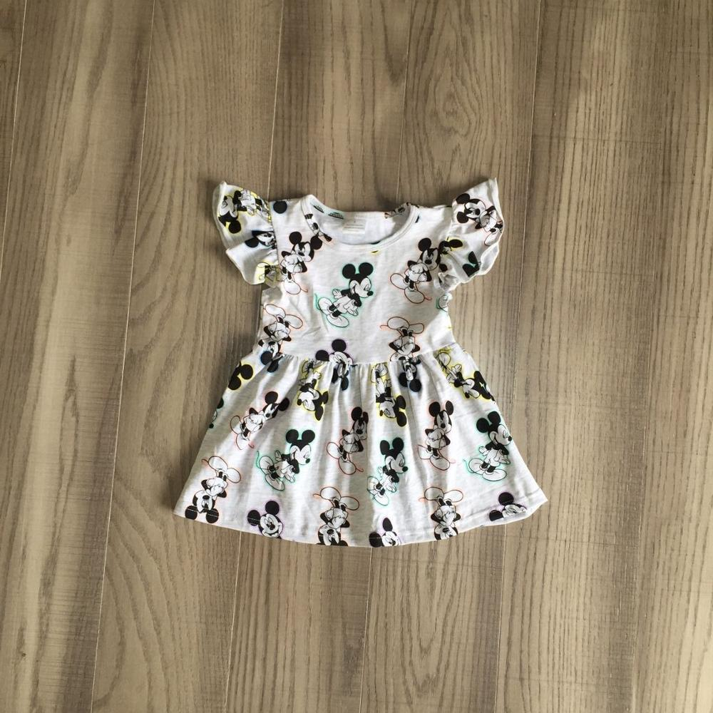 Baby Girls Summer Dress Girls White Dress Girls Kids Cute Dress