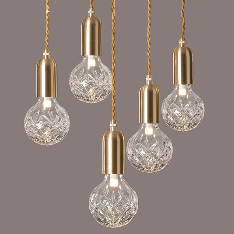 Edison, Crystal, Creative, Bulb, Stair, Decorative