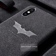 Batman iPhone Cases For the 11 Pro 2019 XS MAX XR X 6 S 6S 7 8 Plus Batman Leather Soft Slim Cover Funda Coque