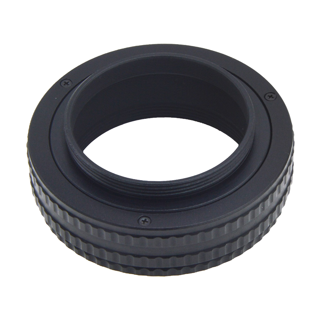 Metal <font><b>M42</b></font> to <font><b>M42</b></font> Len Adjustable Focusing Helicoid Macro <font><b>Tube</b></font> Adapter 17mm-31mm image