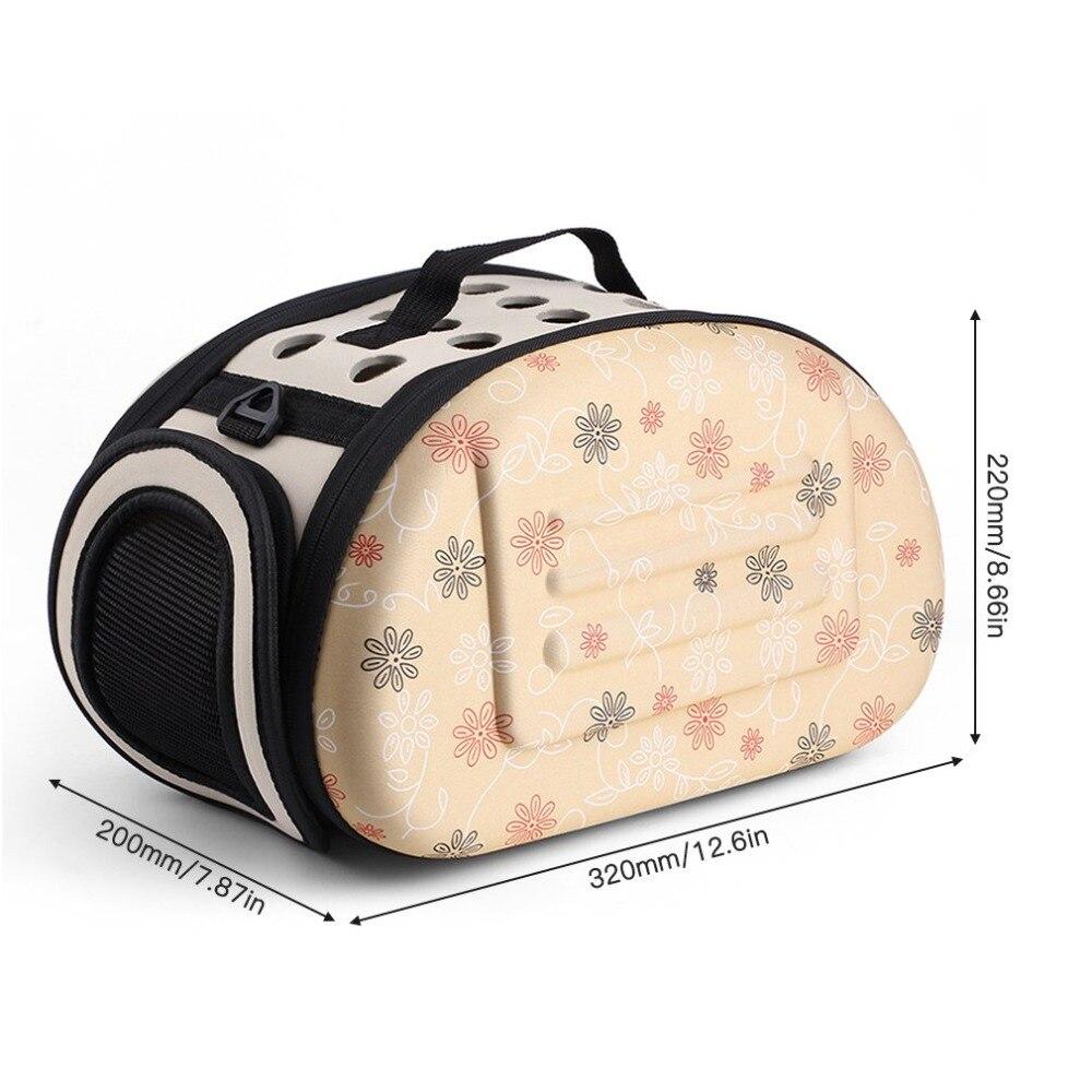 Pet-Bag Outdoor-Carrier Soft Portable Travel-Shoulder EVA Floral High-Quality Lovely