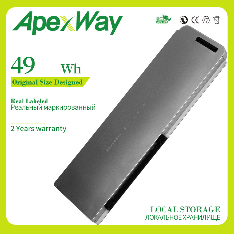 """Apexway Laptop Battery for Apple A1281 A1286 (2008 Version) for MacBook Pro 15"""" MB470 Mb471 MB772 MB772*/A Laptop Batteries    - AliExpress"""