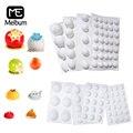 Meibum 12 типов силиконовая форма для выпечки полусферы украшения для тортов мусс инструменты сферические десертные Кондитерские принадлежно...