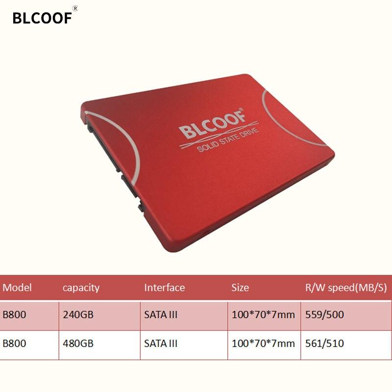 SSD 2,5 Zoll sata III HDD 240GB 480GB TLC interne solid state BLCOOF interne festplatte disco duro gelten für laptop/desktop