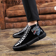 high top shoes black men shoes luxury
