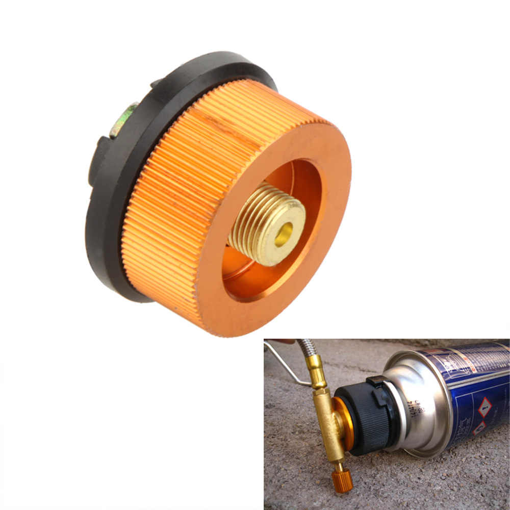 Auto-off Picnic Gas Stove Adaptor Burners Conversion Split Type Furnace Connector Camping Gas Stove Cylinder Tank Adapter