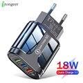 Зарядное устройство с 3 USB-портами для быстрой зарядки, 3,0, 4,0, зарядное устройство USB для iPhone 12 pro, 11Max, Xiaomi, Samsung, Huawei, быстрая зарядка, настенные ...