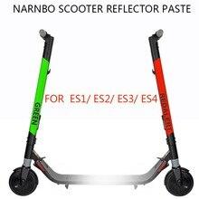 Оборудование для мотороллера безопасности Euipment интегральный светоотражающий стиль водостойкие наклейки электрический скутер скейтборд аксессуары