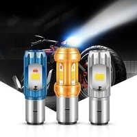 12V ~ 80V faro Led para motocicleta H7 Hi/Lo haz 6000K 12W/36W moto Auto luz faro motocicleta bombilla de luz alta/baja
