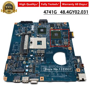 09920-3 For ACER 4741 4741g Laptop Motherboard 48.4GY02.031 554GY01531 Mainboard