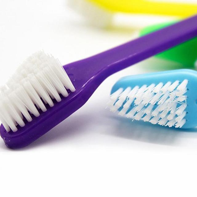 1pc Two Sided Dog Toothbrush Bad Breath Tartar Teeth Care For Cat Dog Tooth Clean Brush Soft Pet Finger Toothbrush pet Suppplies 5