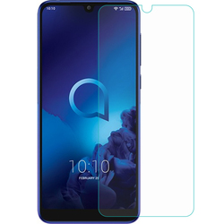 На Алиэкспресс купить стекло для смартфона 2.5d 9h premium tempered glass for alcatel 3l (2019) 5039d 5.94дюйм. screen protector protective film cover